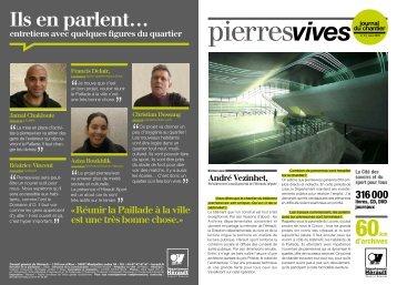 Journal de chantier pierresvives N°1-mai 2009 - Conseil Général de ...