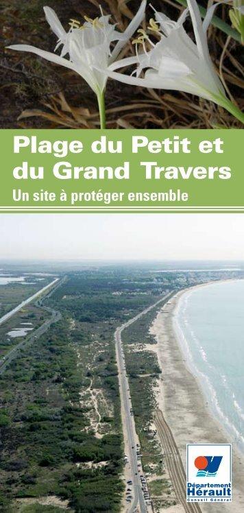 Plage du Petit et Grand Travers - Conseil Général de l'Hérault