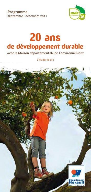 Programme - Conseil Général de l'Hérault