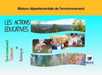 Actions Éducatives - Conseil Général de l'Hérault