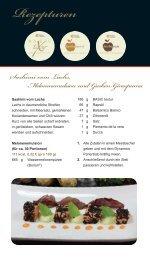 Sashimi vom Lachs, Melonenemulsion und Gurken ... - herbacuisine