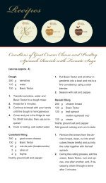 Recipes Canelloni of Goat Cream Cheese and ... - herbacuisine
