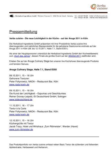 Download als PDF - herbacuisine