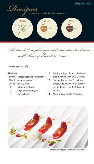 Recipes - herbacuisine