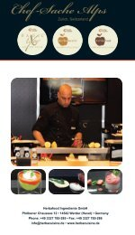 Recipes CHEF-SACHE Alps - herbacuisine