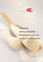 Mousse Au Chocolat Light - Herbafood Ingredients GmbH