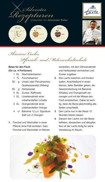 Rezepturen - herbacuisine