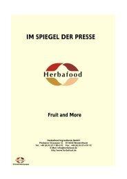 Deutsche Version - Herbafood Ingredients GmbH