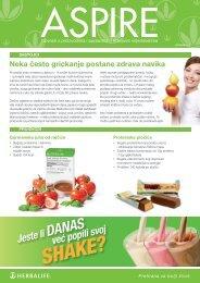 SHAKE? - Herbalife Today Magazine