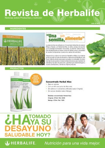Revista de Herbalife - Herbalife Today Magazine