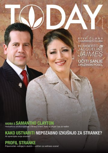 JAIMES - Herbalife Today Magazine