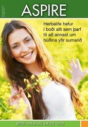 Herbalife hefur í boði allt sem þarf til að annast um húðina yfir sumarið