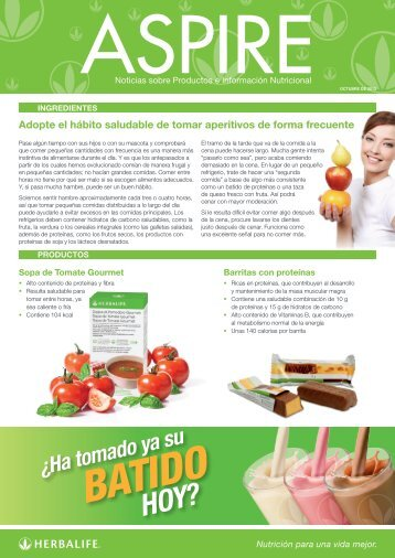 BATIDO - Herbalife Today Magazine