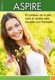 El cuidado de la piel para el verano está resuelto con Herbalife