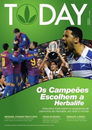 Os Campeões Escolhem a - Herbalife Today Magazine