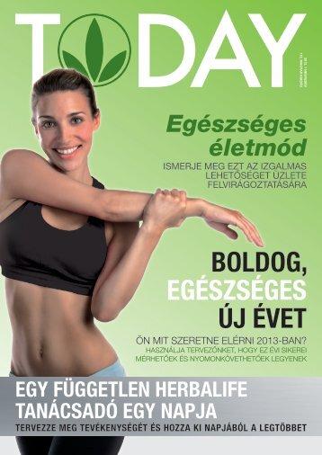 BOLDOG, EGÉSZSÉGES ÚJ ÉVET - Herbalife Today Magazine