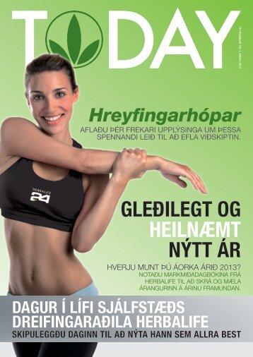 GLEÐILEGT OG HEILNÆMT NÝTT ÁR - Herbalife Today Magazine