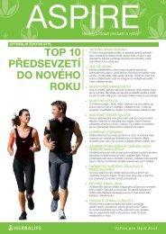 top 10 předsevzetí do nového roku - Herbalife Today Magazine