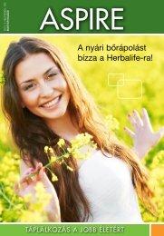 A nyári bőrápolást bízza a Herbalife-ra! - Herbalife Today Magazine