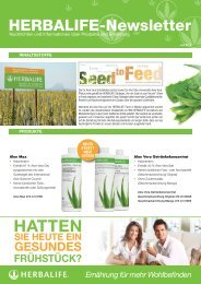 HATTEN - Herbalife Today Magazine