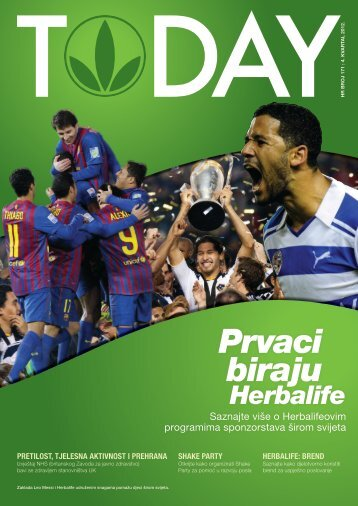 Prvaci biraju - Herbalife Today Magazine