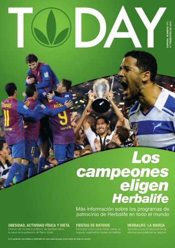 Los campeones eligen - Herbalife Today Magazine