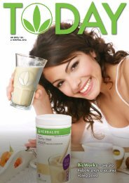 BizWorks - Herbalife Today Magazine