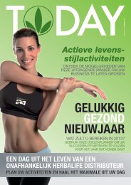GELUKKIG GEZOND NIEUWJAAR - Herbalife Today Magazine