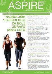 najboljših 10 resolucij za bolj zdravo novo leto - Herbalife Today ...