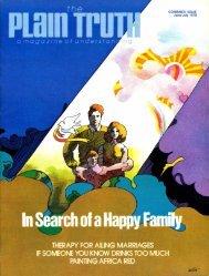 Plain Truth 1978 (Prelim No 06) Jun-Jul - Herbert W. Armstrong ...