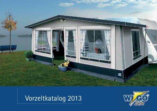 Vorzeltekatalog 2013 - Wigo Zelte