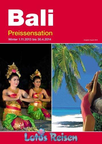 Bali Winter 2014 - Lotus Reisen