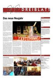Dreiblatt Nr 01 Januar 2014 - Evangelisch-Reformierte Kirchen der ...