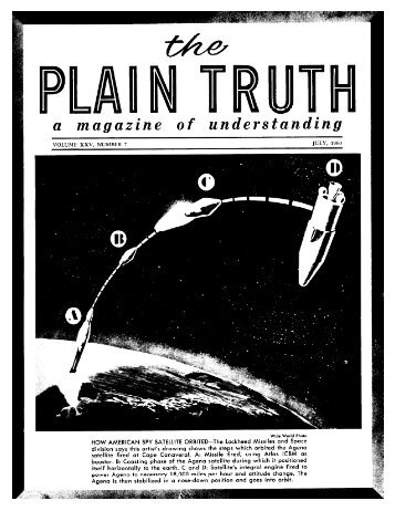 Plain Truth 1960 (Vol XXV No 07) Jul - Herbert W. Armstrong Library ...