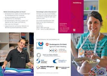 Information für Arbeitgeber - Stadt Heidelberg