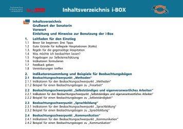 Box - Bildungsserver Berlin - Brandenburg - Berlin-Brandenburg.de