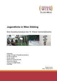 2013: Jugendliche in Wien-Döbling - Fonds Soziales Wien