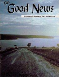 Good News 1968 (Vol XVII No 01) Jan - Herbert W. Armstrong ...