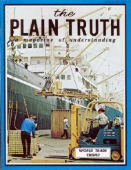 Plain Truth 1970 (Prelim No 06-07) Jun-Jul - Herbert W. Armstrong ...