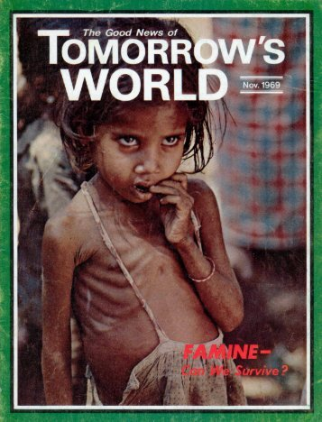 Tomorrows World 1969 - Herbert W. Armstrong Library and Archives