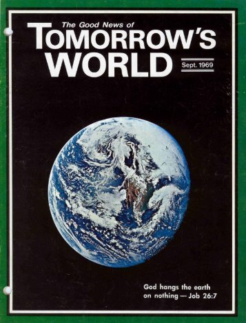 Tomorrows World 1969 (Vol I No 04) Sep - Herbert W. Armstrong ...