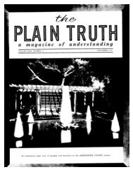 Plain Truth 1957 (Vol XXII No 11) Nov - Herbert W. Armstrong ...