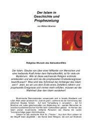 Islam in Geschichte und Prophezeiung