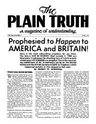 Plain Truth 1955 (Vol XX No 05) Jun - Herbert W. Armstrong Library ...