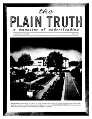 Plain Truth 1957 (Vol XXII No 05) May - Herbert W. Armstrong ...