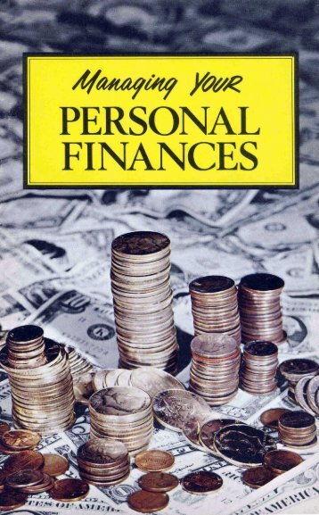 Managing YOUR PERSONAL FINANCES - Herbert W. Armstrong ...