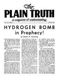 Plain Truth 1955 (Vol XX No 08) Oct - Herbert W. Armstrong Library ...
