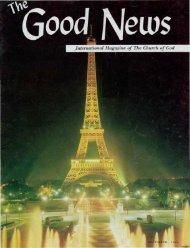 Good News 1966 (Vol XV No 12) Dec - Herbert W. Armstrong
