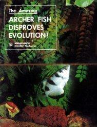 Archer Fish Disproves Evolution.pdf