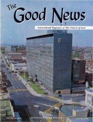 Good News 1964 (Vol XIII No 01) Jan - Herbert W. Armstrong
